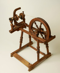 Old spinning machine