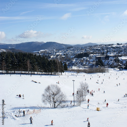 Wintersport in Winterberg ( Hochsauerland )