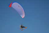 paraglider in fly