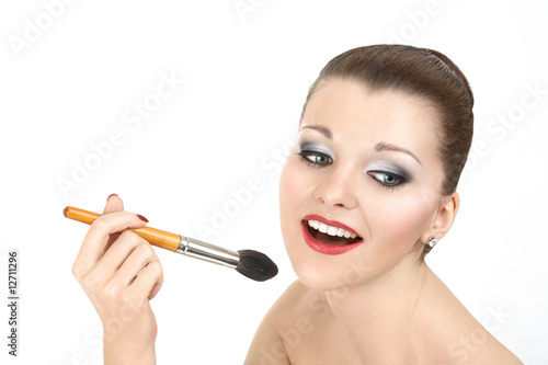 Cheerful make-up