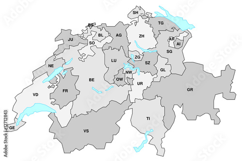 Schweiz Karte Schwarz Weiss.Fototapete Schweiz Karte Landkarte Globus Zentral