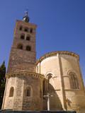 Catholic church in Segovia, Spain poster
