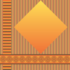 Retro geometric  background (vector)