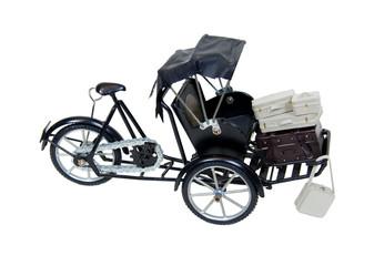 Rickshaw and luggage
