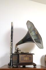 Grammofono e clarinetto - Musica