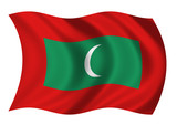 Maldives - Flag of