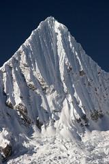 Summit of ice