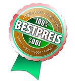 100% Bestpreis Button