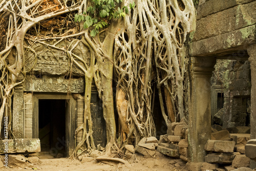 fototapete vintage angkor wat. Black Bedroom Furniture Sets. Home Design Ideas