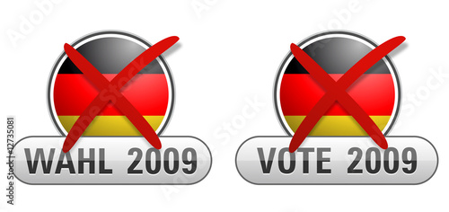 german vote button