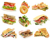 Fototapety Sandwiches Collection
