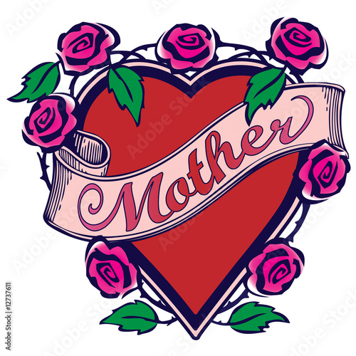 Mother Tattoo Design