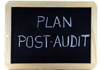 plan post audit