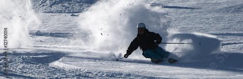 fototapeta na ścianę fast ski