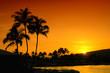 Sunset In Oahu Hawaii