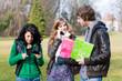 Groupe de lycéens