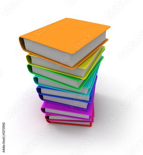 colonne de livre couleur de frank boston photo libre de droits 12751842 sur. Black Bedroom Furniture Sets. Home Design Ideas