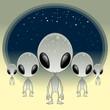 Постер, плакат: Greys UFO