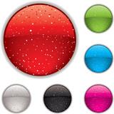gel button speckle poster