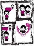 Emo Love Comics poster