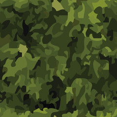 Seamless camouflage background (vector in my portfolio)