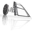 Film Reel. Concept of Industry cinematographic.