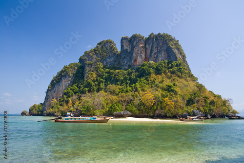 Tropical island of Andaman sea