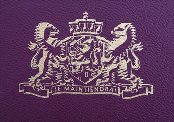 Dutch passport detail