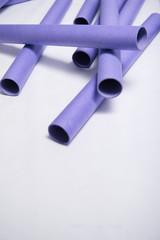 Empty plotter rolls