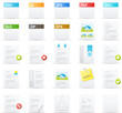 Nouve icon set: Documents and Applications