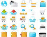Nouve icon set: Internet and e-Commerce poster