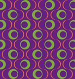 Muster Retro Lila poster