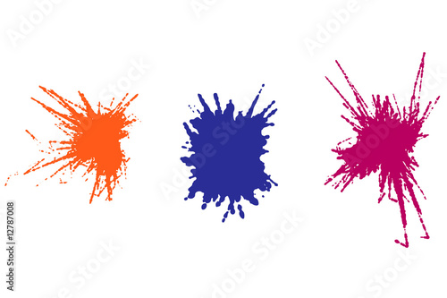 Splatter Vectors
