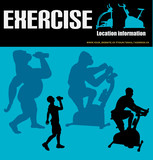 Excercise Flyer poster