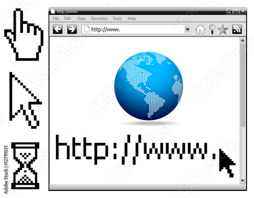 Vector - Web Internet Browser, cursors...