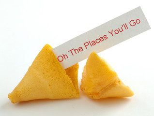 Oh The Places You'll Go Fortune Cookie
