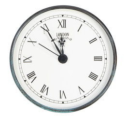 isolated classic clock