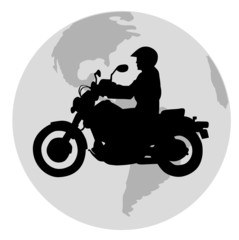 biker in the world