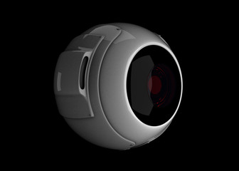 red-eyed webcam