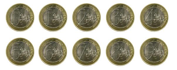 Euro 1 2 3 4 5 6 7 8 9 0