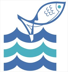 sign_logo_symbol_fish