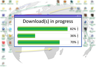 Downloads in Progress