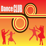 Dance Club Flyer poster