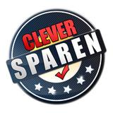Clever Sparen Button poster