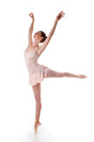 Ballerina performing poster