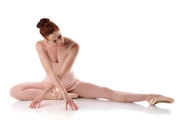 Ballarina posing