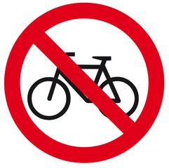 Proibido bicicletas