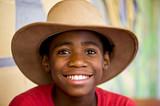 Junge mit Cowboy Hut