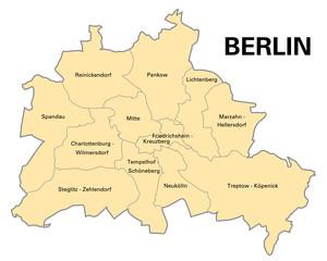Bezirke Berlin
