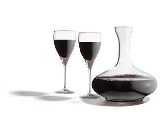 decanter con bicchieri di vino